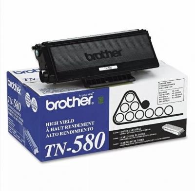 Cartucho De Toner Brother TN 580 Original (ntk 242)